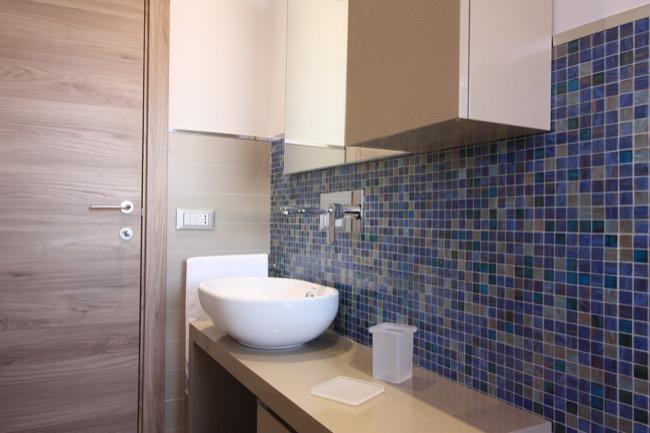Bagni Blu Mosaico : Mosaico greca gres bagno cucina azzurro blu celeste ebay